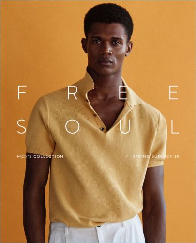 Free Soul: O'Shea Robertson Sports Summer Fashions for Massimo Dutti