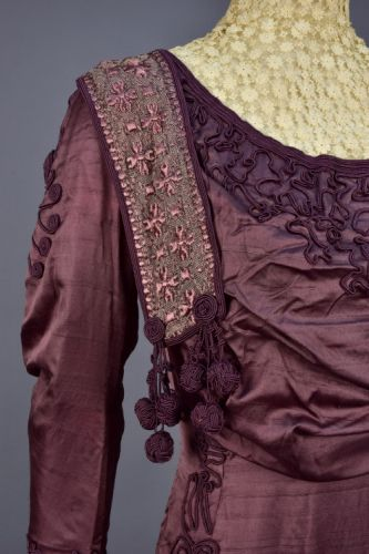 Up Close: Afternoon Dress, 1900s-1910s