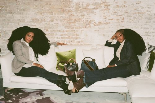 The Quann Sisters Are Back With Fendi Peekaboos In Hand