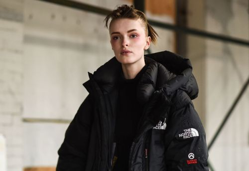 Everyone Is Wearing North Face Jackets at Fashion Week