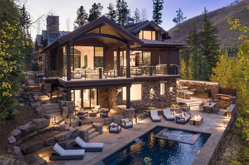 The $32M 1183 Cabin Circle Vail Estate is a Newly Constructed Sight To Behold