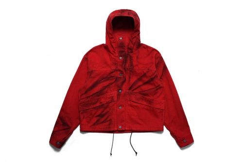 Advent Calendar Day 12: 424 Red Painted Cropped Parka