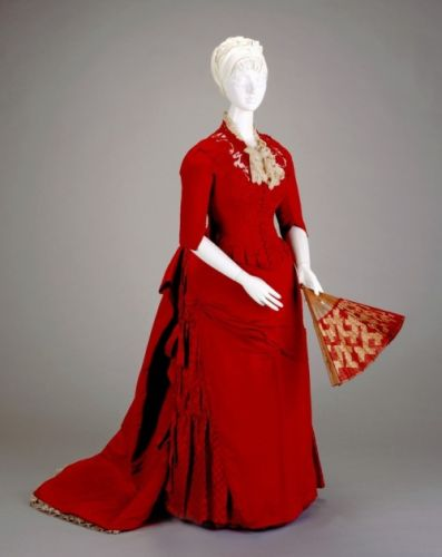 Reception Dress1886Cincinnati Art Museum