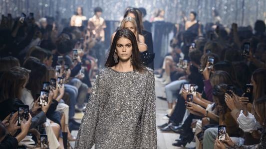 Isabel Marant Throws a Sparkling Silver Party for Spring 2019