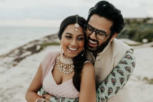 Seema + Sagar Riviera Cancun South Asian Wedding