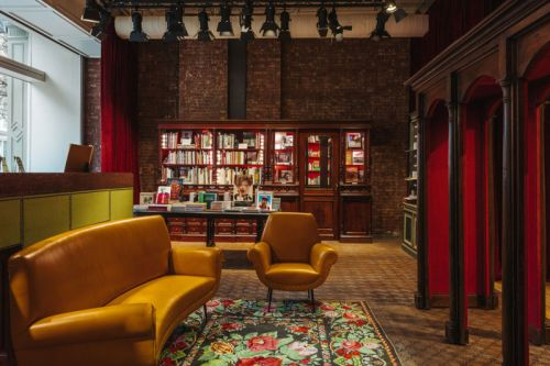 A Look Inside the Gucci Wooster Bookstore
