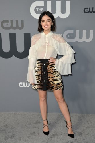 Lucy Hale Mixed Two Hot Trends In the Most Unexpected Way at the CW Upfronts, and I Love It
