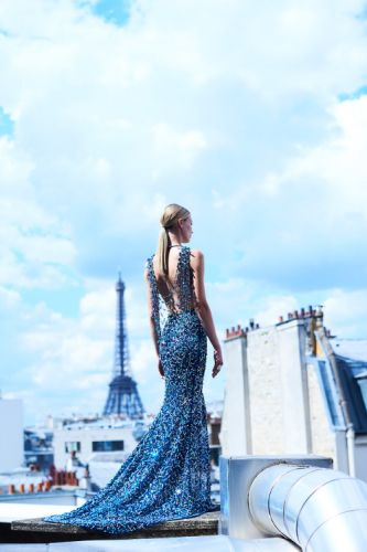 Parisian Moments - GEORGES HOBEIKA Haute Couture Autumn-Winter