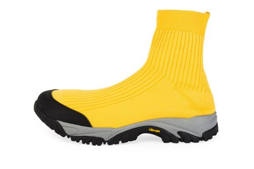 Maison Margiela Unveils the Security High-Top Sock Runner in Yellow