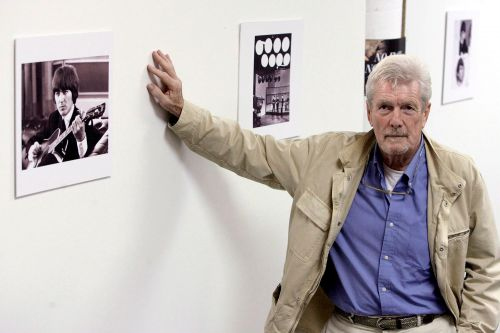 Photographer who shot iconic album covers for The Beatles dies