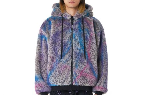 99%IS Elevates Faux Fur With Handmade Graffiti Jackets
