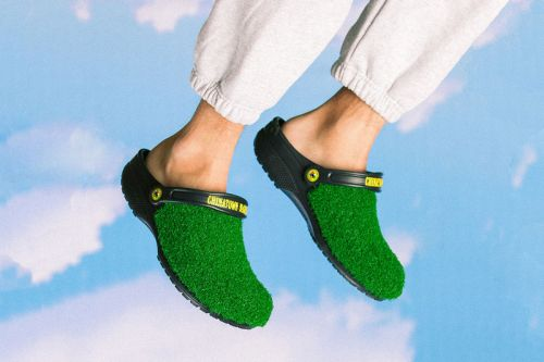 Chinatown Market Gets Summery With Turf-Lined Crocs