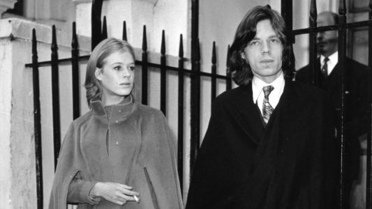 Great Outfits in Fashion History: Marianne Faithfull and Mick Jagger Swathed in Capes in 1969