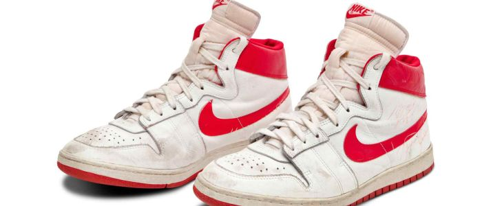 Michael Jordan's 1984 Nike Air Ship Sneakers Break Record Sale at Sotheby's Auction