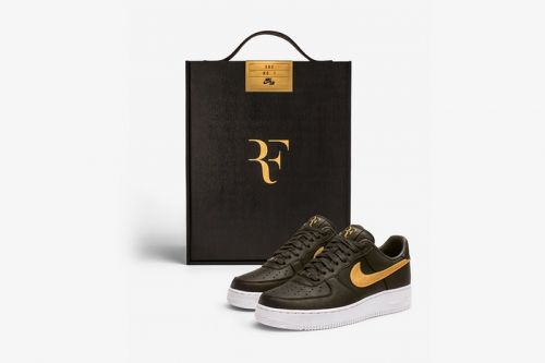 "Nike Reveals the ""Federer Forever"" Air Force 1"