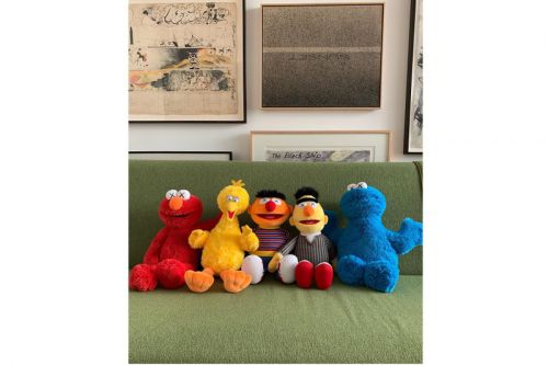 KAWS Shares Full Look at 'Sesame Street' Plushes