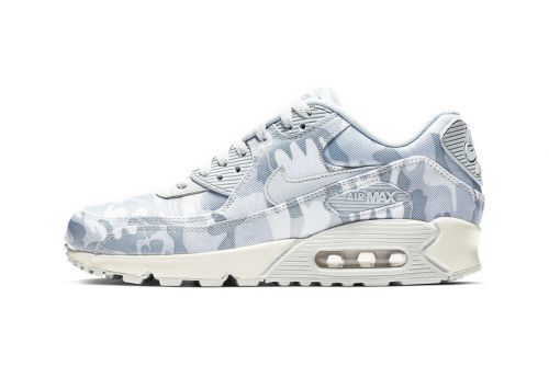 "Nike's Air Max 90 Gets Swathed in ""Pure Platinum/Summit White"""
