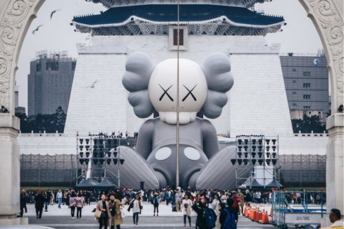 KAWS Kicks Off the Opening of 'KAWS:HOLIDAY' in Taipei