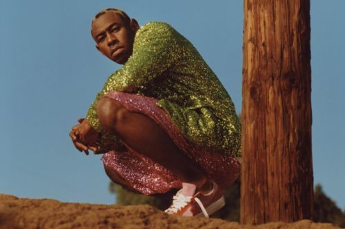 Tyler, The Creator Showcases Sequins and Sparkles From COMME des GARÇONS HOMME Plus Spring/Summer 2018