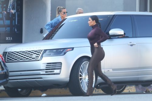 Stylish Mamas! Kim and Khloe Kardashian Step Out in Fashionable 'Fits for a Shopping Date in L.A