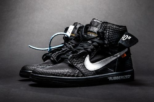 "The Shoe Surgeon Douses the Air Jordan 1 in ""Lux"" Rubberized Python"