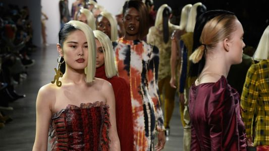 Kim Shui Proudly Describes Her Latest Collection as 'Straight-Up Whore'