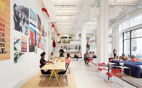 Company behind co-working space WeWork launches retail concept in NY