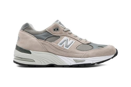 New Balance's Made in England 991 Appears in OG Gray Colorway