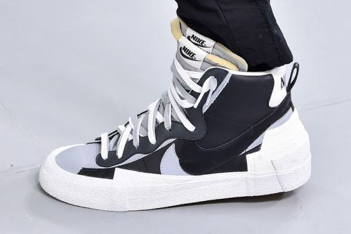 Sacai Debuts New Nike Sneakers During FW19 Paris Runway Show