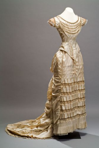 Evening Dress1870s Museo de Historia Mexicana