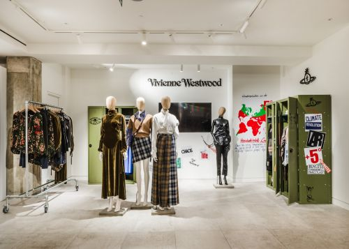Vivienne Westwood launches pop-up at Selfridges
