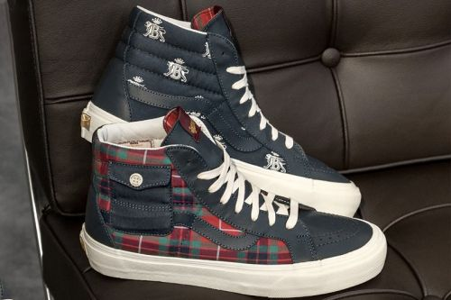 Baracuta Applies Traditional British Sensibilities To Vans Vault's Sk8-Hi and Old Skool LX