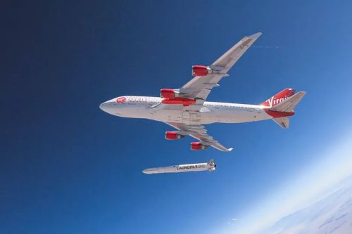 Virgin Orbit Launches Satellite Rocket From a Flying Boeing 747