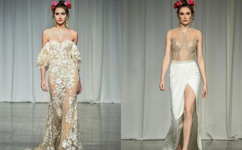 Julie Vino New York Bridal Fashion Week Show presents old world elegance