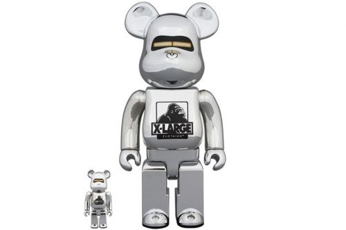 Medicom Toy & XLARGE Collab With Hajime Sorayama for Robot-Inspired BE RBRICKs