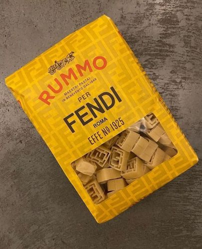 Fendi made FF-branded pasta - and all the fashion news you missed this week