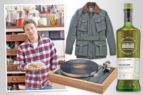From cymbals to blenders, chef Jamie Oliver's ingredients for life