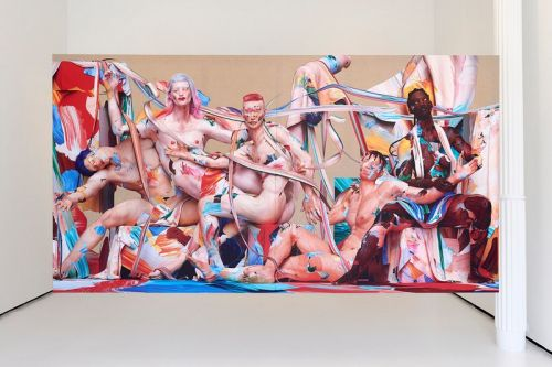 The Hole NYC Displays Huge 'Together' Artwork by Matthew Stone