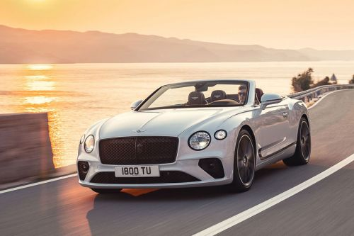 The Bentley 2019 Continental GT Convertible Has Arrived