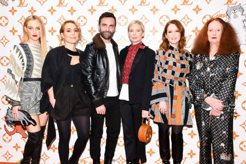 Celebs swarm Louis Vuitton, Grace Coddington pop-up launch