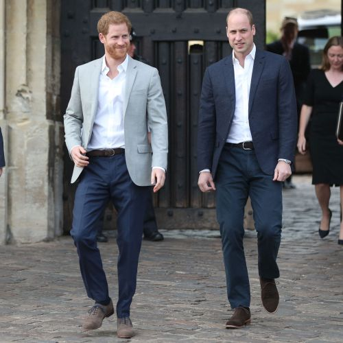 Prince William and Prince Harry Have Always Been 'Very Close' - But 'Very Competitive'