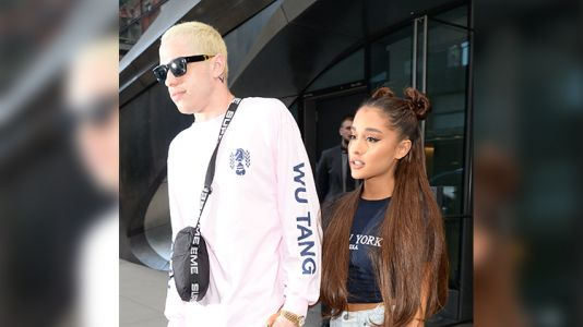 Pete Davidson Says Someone Threatened To 'Shoot Him In The Face' Over His Engagement To Ariana Grande