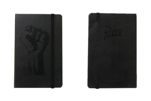 Patta Releases Fist Logo-Adorned Moleskine Leather Notebook