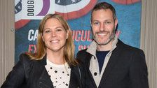 Actress Mary McCormack Posts Video Of Her Husband's Tesla On Fire