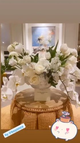 Katy Perry Shows Off Stunning Flowers Beyoncé Gave Her After Welcoming Baby No. 1 With Orlando Bloom