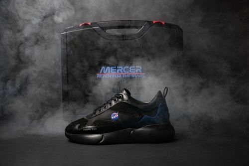 "NASA & Mercer Amsterdam Unveil Apollo 17-Inspired ""Night Mission"" Sneakers"
