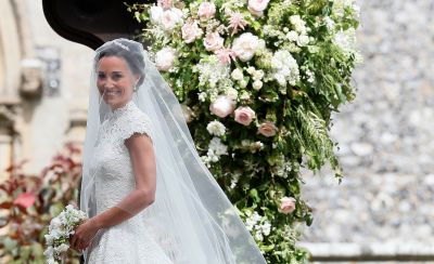 Pippa Middleton Got Married in a Couture Giles Deacon Wedding Dress