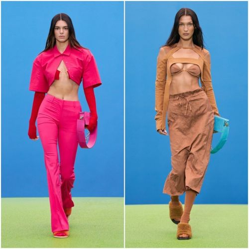 Bella and Kendall make for the hills in a Jacquemus runway return