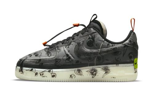 """Take an Official Look at the Nike Air Force 1 Experimental """"Halloween"""""""