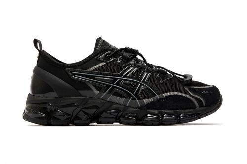 NU LABEL Gives ASICS' GEL Quantum 360 a Stealthy Makeover